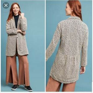CARTONNIER Anthropologie Rowan Knit Jacket